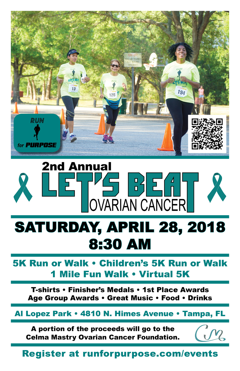 2nd Annual Let S Beat Ovarian Cancer 5k Cmocf