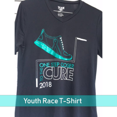 Youth 2018 Race for Cure T-Shirt